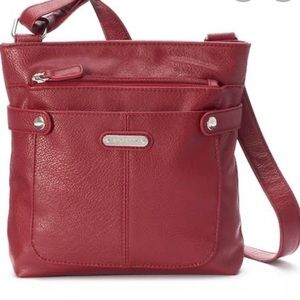 Rosetti Red Satchel Handbag